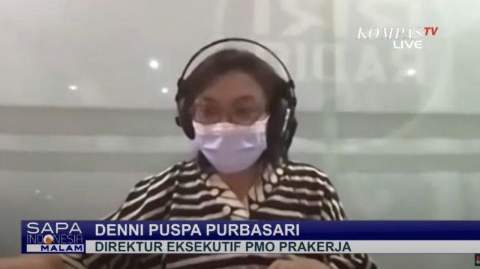 Direktur Eksekutif PMO Prakerja, Denni Puspa Purbasari.