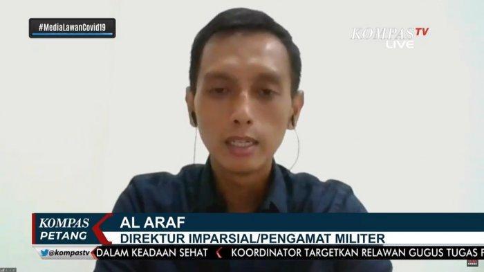 Direktur Imprasial sekaligus Pengamat Militer, Al Araf