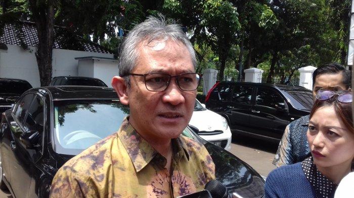 Direktur Jenderal Anggaran Kementerian Keuangan Askolani, di kantor Kemenko PMK, Jalan Medan Merdeka Barat, Jakarta Pusat, Jumat (5/10/2018).