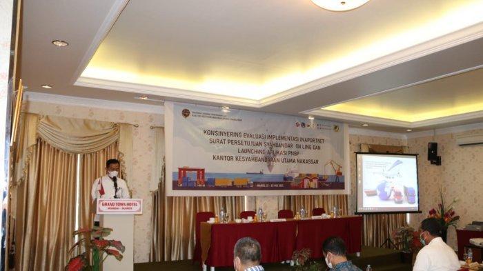 Optimalkan Pelayanan, Dirjen Hubla Luncurkan Aplikasi PNBP Internal KSU Makassar