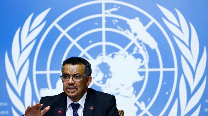 Direktur Jenderal WHO Tedros Adhanom Ghebreyesus - WHO Lanjutkan Studi Hidroklorokuin untuk Mengobati Covid-19