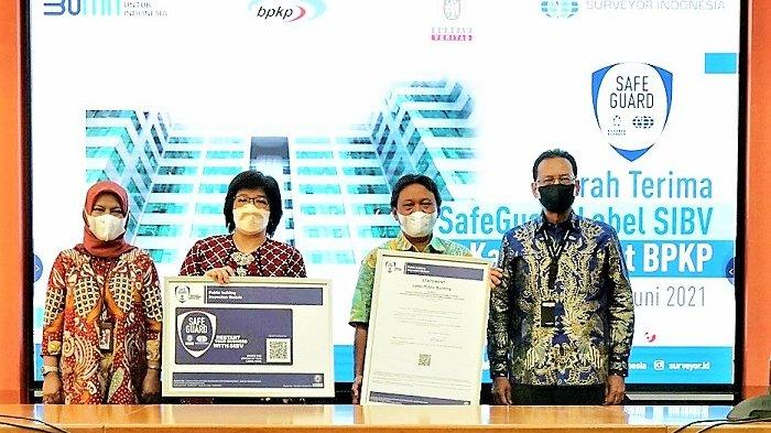 Surveyor Indonesia Beri Label SafeGuard SIBV Pertama Kepada BPKP