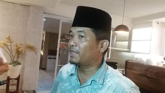 Direktur Lingkar Madani Indonesia (LIMA) Ray Rangkuti saat diskusi 'Sudah Siapkah 98 Menjaga Pemerintahan dan Demokrasi Dari Dalam' di Kopi Bang Pred, Gedung Graha Pena 98, Kemang, Jakarta Selatan, Jumat (3/5/2019). TRIBUNNEWS.COM/FRANSISKUS ADHIYUDA