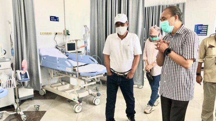 Direktur Pertamina Pantau Kesiapan Pertamedika di RS Darurat Covid Asrama Haji