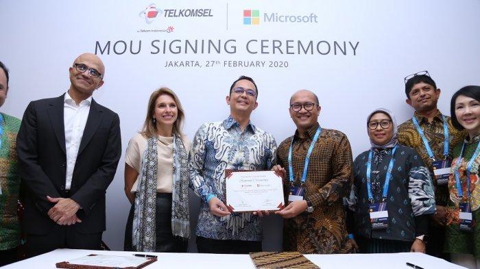 Microsoft Gandeng Telkomsel Gelar Edge Computing Berbasis AI untuk Industri 4.0 di Indonesia