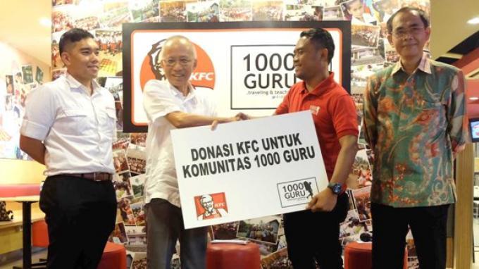 KFC Indonesia Beri Dana Bantuan Pendidikan Anak-anak di Pedalaman NTT