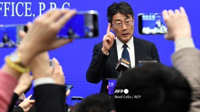 Direktur Pusat Pengendalian dan Pencegahan Penyakit China Gao Fu berbicara selama konferensi pers Kantor Informasi Dewan Negara di Beijing pada 26 Januari 2020