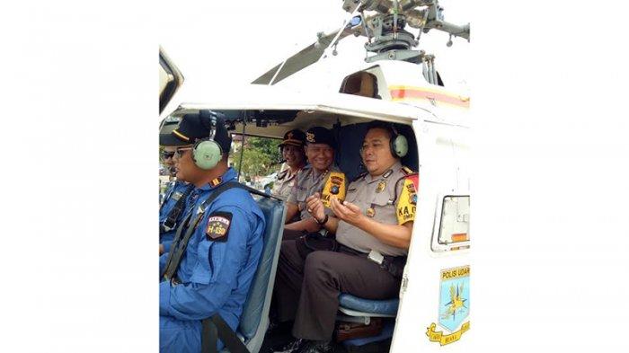 Tak Nyaman Naik Helikopter, Direktur Sabhara Polda Babel Berdoa