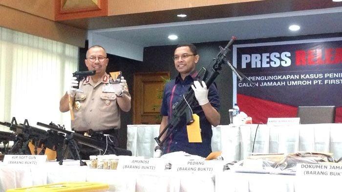 Belum Selesai Kasus Dugaan Penipuan, Bos First Travel Terjerat Kasus Baru Kepemilikan Senjata Ilegal