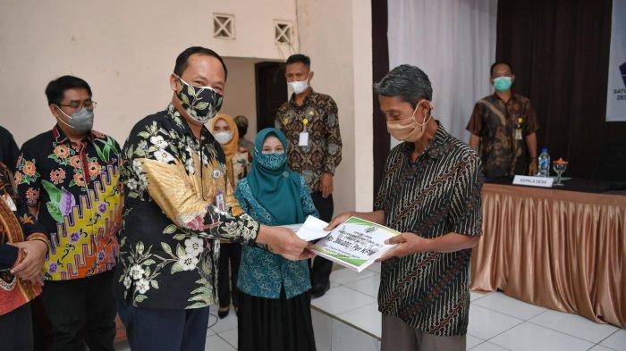 Dirjen PDP Pantau Penyaluran BLT DD di Kabupaten Sukabumi