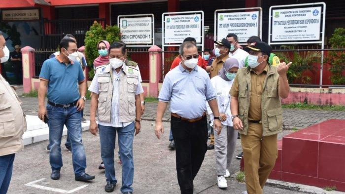 Perdana di Kota Tangerang, Kemensos Pantau Penyaluran BST 2021 Tahap Pertama