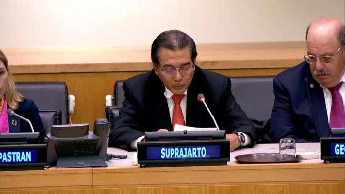 Dirut BRI Suprajarto hadiri forum PBB yang berjudul