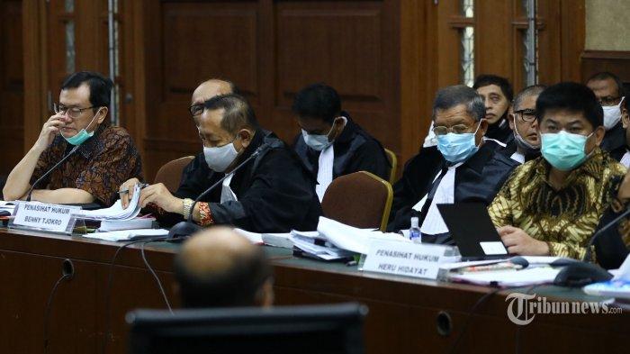 Bentjok Pertanyakan Dasar Perhitungan BPK soal Kerugian Negara dalam Kasus Jiwasraya