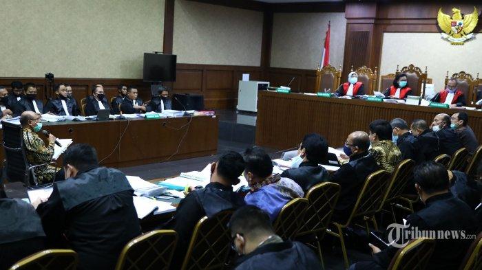 Empat Terdakwa Kasus Jiwasraya Divonis Penjara Seumur Hidup