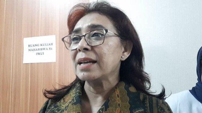 Direktur Utama (Dirut) Rumah Sakit Umum Pusat (RSUP) Persahabatan, Rita Rogayah di RS Persahabatan, Jakarta Timur, Kamis (5/3/2020).