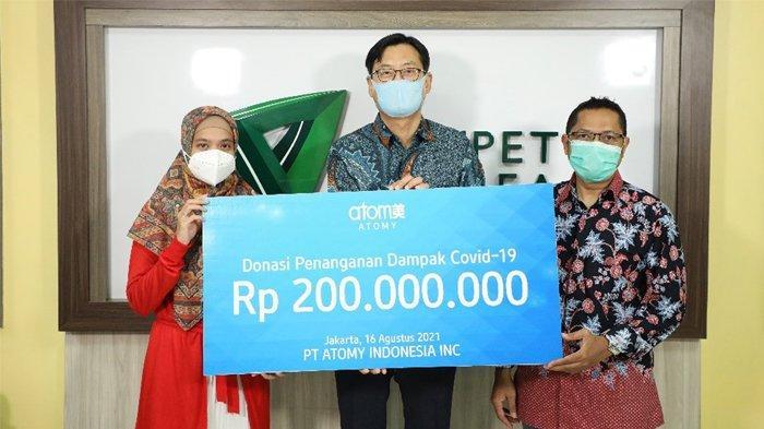 Atomy Indonesia Salurkan Rp 200 Juta lewat Dompet Dhuafa, Bantu Tangani Dampak Covid-19