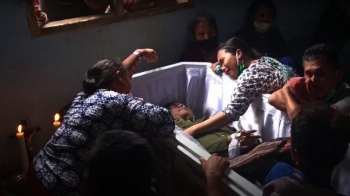 Paling Baru, Disasmbut Tangis Histeris, Praka Sinurat Korban Penambakan Dimakamkan Hari Ini di Padangsidimpuan