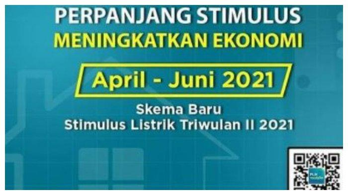 Klaim Diskon Listrik PLN April 2021, Berikut Penjelasan Skema Stimulusnya