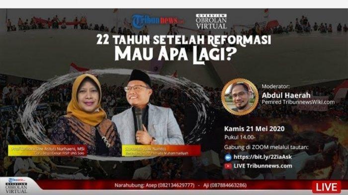 22 Tahun Setelah Reformasi, Kepentingan Rakyat Harus di Atas Segalanya