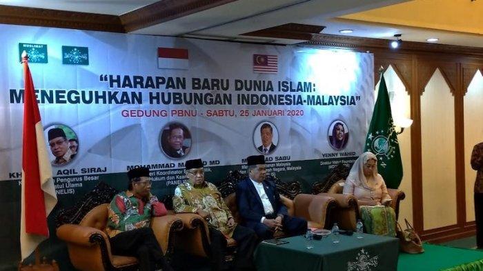 Yenny Wahid Prakarsai Pertemuan Menhan Malaysia dengan PBNU dan Menkopolhukam