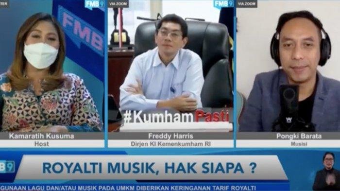 Dirjen Kekayaan Intelektual: PP No. 56/2021 Jaminan Hak Royalti Lagu untuk Musisi