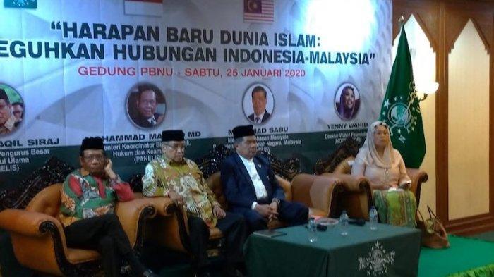 Mahfud MD Tolak Tawaran Kerja Sama dari Amerika untuk Hindari Perang dengan Cina