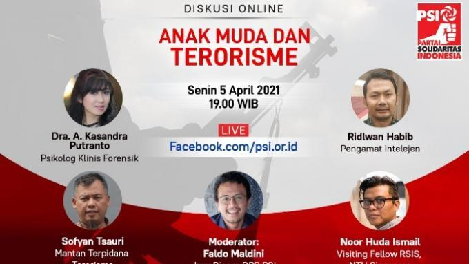 Dari Diskusi Online 'Anak Muda dan Terorisme', Soal Pilih Guru Sampai Peran Penting Keluarga
