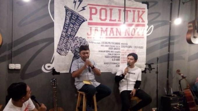 Generasi Z Surabaya Aktif Berdiskusi Politik