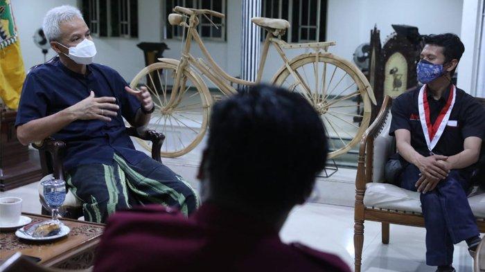 Sambangi Rumah Gubernur, Organisasi Mahasiswa Sampaikan Dukungan Penanganan Covid-19 di Jateng