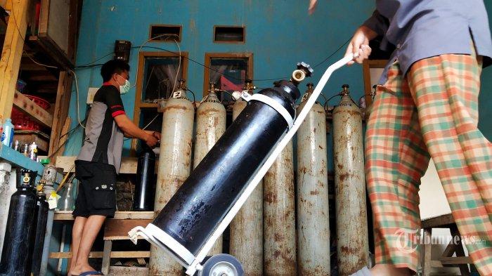 Disinyalir Ada Praktik Penimbunan Hingga Harga Naik, Polisi Diminta Razia Penjualan Tabung Oksigen