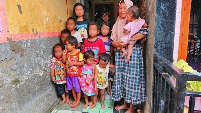 Ditinggal Wafat Suami, Sriyanti Berjuang Sendiri Hidupi 13 Anak dengan Jual Es Cendol, Ini Kisahnya