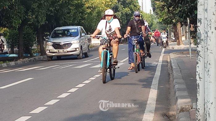 Dibatasi Pot Tanaman, Dana Pembuatan Jalur Sepeda Sudirman-Thamrin Capai Rp 30 Miliar