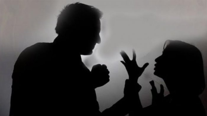 ilustrasi pertengkaran suami-istri
