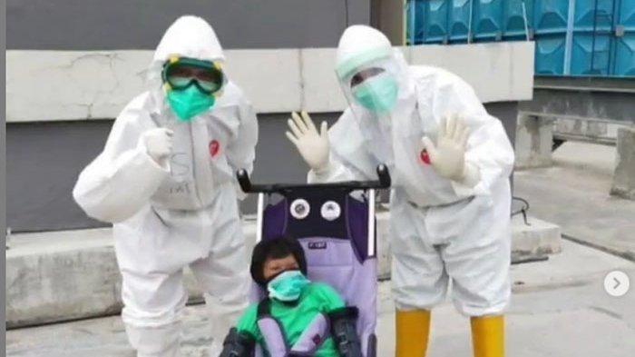 Diva, seorang anak 16 tahun yang diagnosis mengalami penyakit langka Seckel syndrome berhasil melawan virus covid-19..