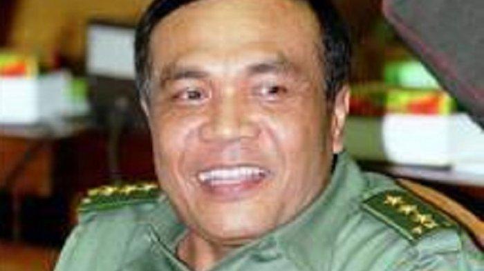 Profil Letjen (Purn) Djamari Chaniago, Ketua Rombongan Moge Pengeroyok 2 Anggota TNI di Sumbar