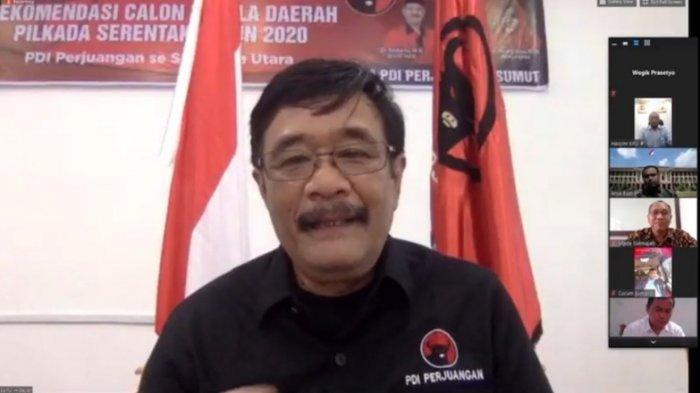 Ketua DPP PDI Perjuangan (PDIP) bidang Ideologi dan Kaderisasi Djarot Saiful Hidayat.
