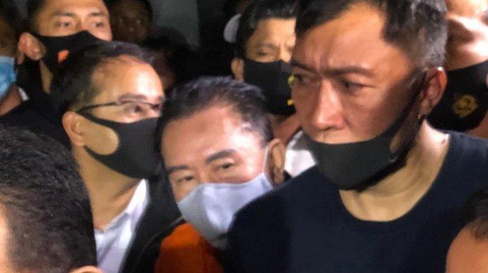 Djoko Tjandra tiba di Bandara Halim Perdanakusuma, Jakarta Timur, Kamis (30/7/2020).