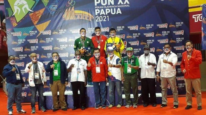 DKI Jakarta, Jawa Timur dan Kalimantan Timur Berbagi Medali Emas Dari Tiga Kelas Gaya Greco Roman