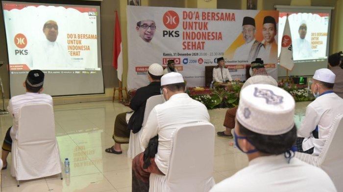 Gelar Doa Bersama, PKS Bermunajat Perubahan di 2021