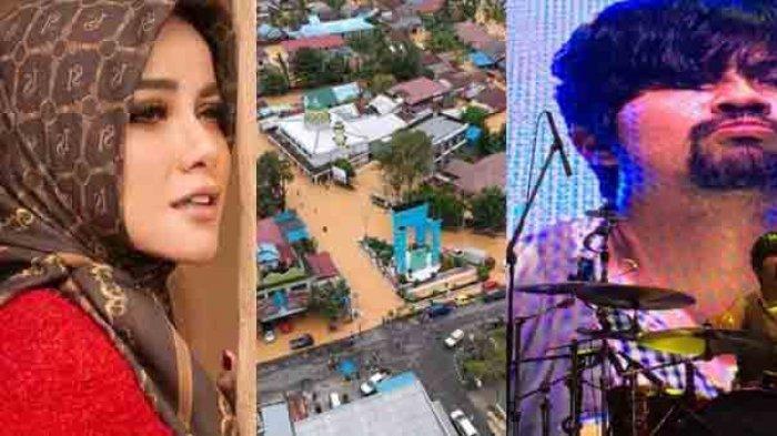 Tanah Kelahiran Disapu Banjir Bandang, Olla Ramlan, Hendy Drummer GIGI dan Ian Kasela Doakan Kalsel
