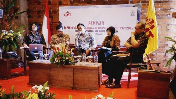 Pergub DKI 132/2018 Dinilai Positif untuk Pembinaan dan Pengelolaan Rumah Susun Milik