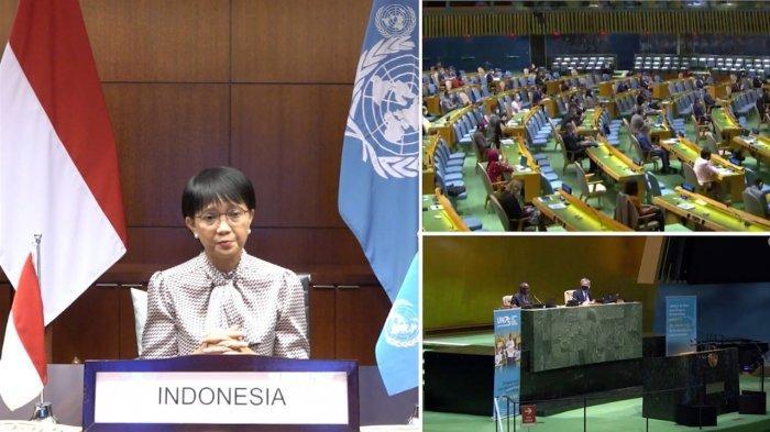 Beri Sambutan pada Peringatan 75 Tahun PBB, Menlu RI Ingatkan Pentingnya Kerjasama Multilateral