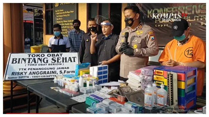 Buka Praktik Pengobatan Ilegal, Seorang Dokter Gadungan di Blitar Berhasil Diringkus Polisi