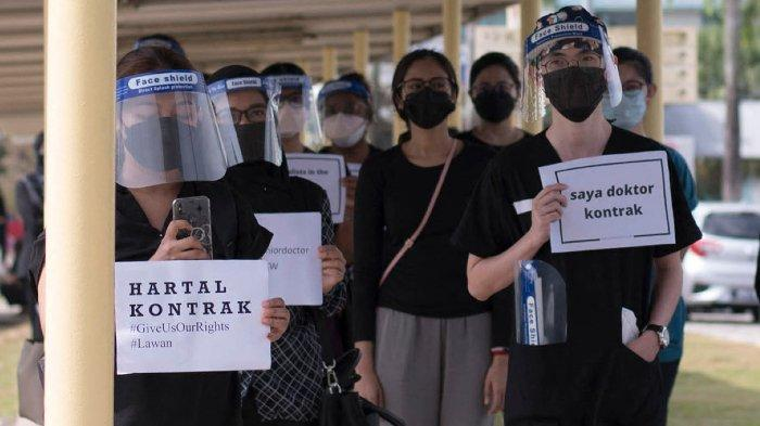 Dokter Kontrak di Malaysia Mogok Kerja, Tuntut Gaji, Hak dan Peluang yang Sama dengan Dokter Tetap