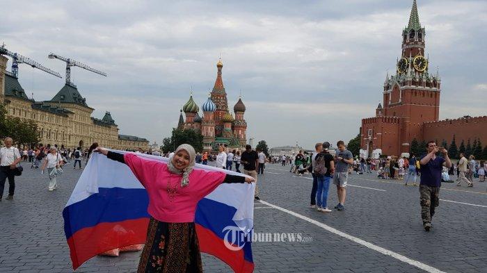 Dokter Rima, Pelanggan Pertama Traveloka Tonton Final Piala Dunia 2018 di Rusia