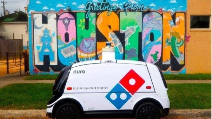 Restoran Ini Kirim Pizza Kepada Pelanggan Menggunakan Mobil Autonomous