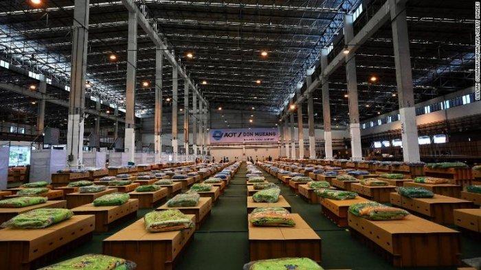 Thailand Bangun Rumah Sakit Covid dengan 1.800 Tempat Tidur di Bandara Don Muang Bangkok