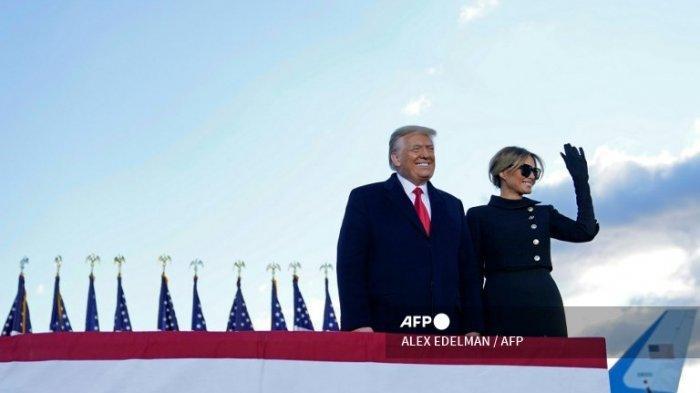 Trump Akhirnya Tinggalkan Gedung Putih