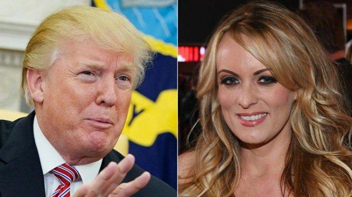 Donald Trump, dan Stormy Daniels aktris porno yang mengaku mempunyai hubungan khusus dengan Trump. Terbaru,  Jaksa AS Selidiki Catatan Pajak dan Keuangan Donald Trump