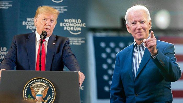 Update Pilpres AS: Tertinggal Jauh dari Biden, Trump Berang !